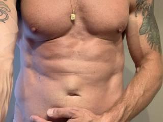 My husbands sexy body