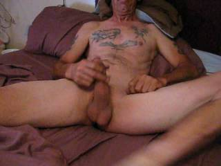 Getting my stroke on and Cumming.