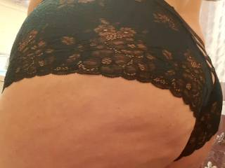 tried on new panties.  Thoughts?