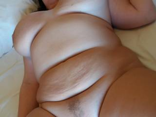 showing my tits and my pussy