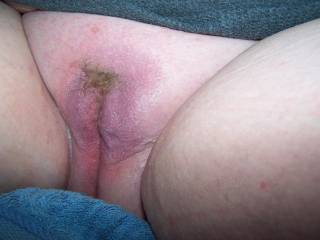 I'd love to put my hard pumped up cock deep in that pussy mmm!