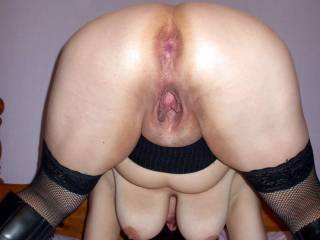 WOW! ... one of the best invitations on Zoig! Love both holes & her big hanging tits which I'd love to grab!