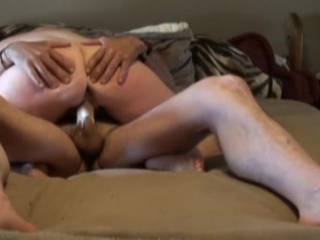 An older video that we enjoyed making so we thought sharing it would be nice....starting off with a nice cowgirl pussy fuck where she creams on my cock before sliding into her delicious ass, would love to hear your thoughts on it ;)