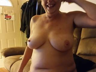 I would love to suck on her sweet nipple