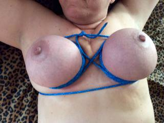 Those are wonderful bound nice and tight, top them off with a couple pegs to flick back and forth