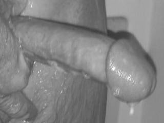 I'd love that big cock head in my mouth and pussy