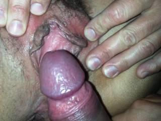 nice cock and pussy love to lick both especially after her juices are on it.