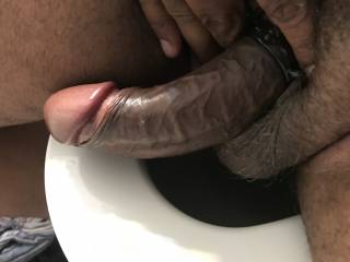 Wife said flash me a pic of your dick babe no matter where you at so he it goes about to shave up the way she likes it