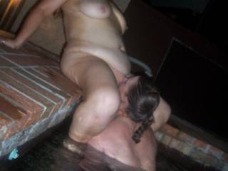 After I had pleasured her to a few orgasms she was more than willing to return the favour having me in orgasmic raptures not long after starting to eat my pussy.