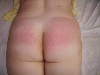 nice pink cheeks after a spanking nauty girl may be i should fuck you right up the ass as punishmrnt