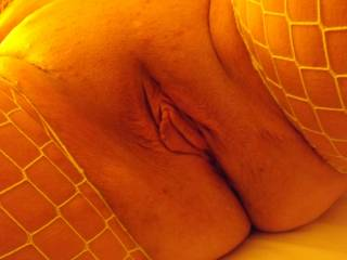 So hot!!  I would love to nibble on those sexy lips....suck that clit till it gets hard and swollen.....then shove my stiff cock into you and pound you till you cum all over my cock!!