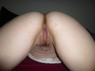 Mmmm very sexy picture! Super hot pussy and ass! Yum! :)