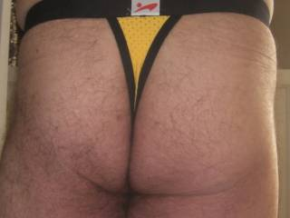 I don\'t know why but a thong feels good in my crack!