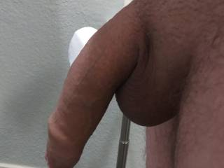 Its little because its cold outside! Do you like my uncut cock?