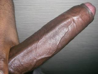 So big...so black....such beautiful veins and un-cut....perfection !!  x