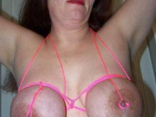 this is hot my tits would look nice like that