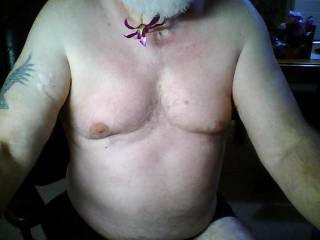 I would love to suck on your nipples.