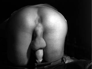 Beautiful ass and asshole big balls & thick cock you have it all!!