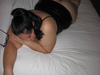 Who wants to pound my wet latina wife from behind until she cums?