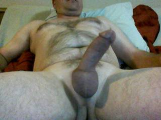 Good looking body and nice thick cock.  I like it.