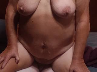 Friend's wife riding me while having a butt plug in her ass.. awesome feeling as my cock was buried deep in her pussy.  She is an awesome lady