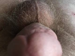 Close up of my dick and balls
