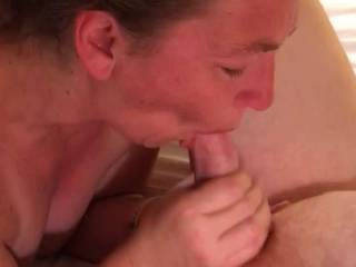 I had a blast sucking my friends cock. He was so hard, and I was so wet. He fucked me really good. We had an awesome time together.