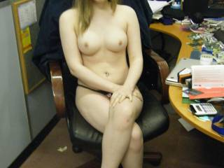 Me at my BF\'s business i paid him a visit who else wants a visit?