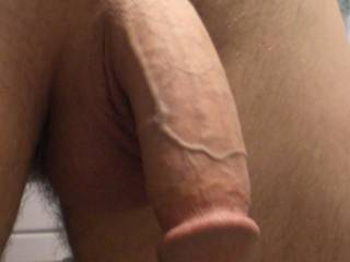 Freshly shaved dick. Do you like the veins?
