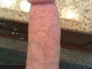 Nice cock!!! May I suck it while my husband watches ;)