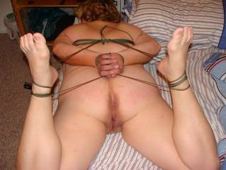 tied and waiting to be fucked