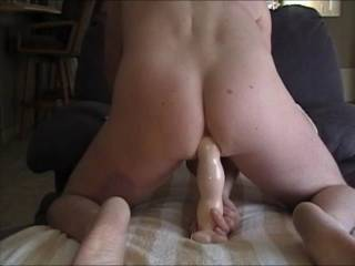 Yes what a great ass fucking vid.  !   That fuckhole opens so easy I wanta stuff my smooth hard cock soooo deep I can stuff my big balls in your hole at the same time!!  I know it will all fit.  You would love it I'm sure.