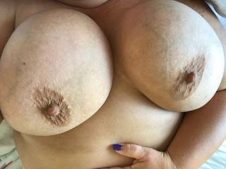 She wants a big cock between her tits
