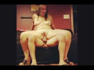 Fucking and cumming all over her pussy