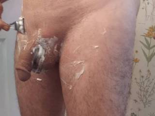 Manscape! My wife loves a smooth cock. She lives to see to every bit that she is going to suck. You should manscape, too! Your woman will love it. Look how great my cock looks for my woman.