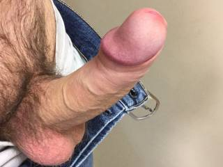 Oups my cock got out. Would like to meet some warm lips..... do you know some?