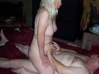 Wife fucking our friend while I watch.