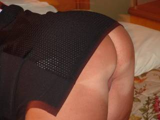 i sure would like to sink my hard cock into you from behind. great picture.