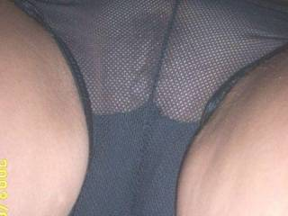 That pussy looks delicious through those panties MMMM