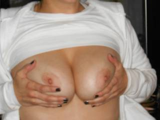 do you suggest to suck your nipples?