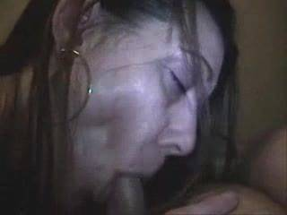 I wanted an oral creampie, but she said she would it instead. I didn\'t complain, and I let her enjoy my warm cumshot.