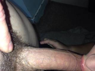shave him for her to suck your balls
