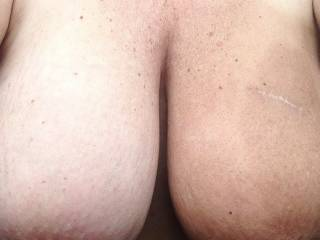 Sucking your nipples while you grind your pussy on my cock sounds like a great way to spend a few hours.