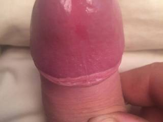 Id love to fuck that cock with my mouth and give u a real sloppy blowjob.. slap my cheeks as I gag on it and drool runs down your balls