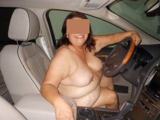 Wow what an amazing picture wish i was riding passenger with you so i could reach over and play with luscious hard erect nipples