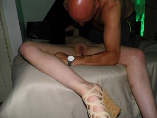 Submit wife in underwear
