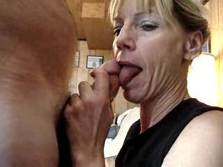 SHE HAS ME CUMMING JUST WATCHING HER WORK THAT COCK OVER WISHED IT WAS MINE FEELING THAT MOUTH