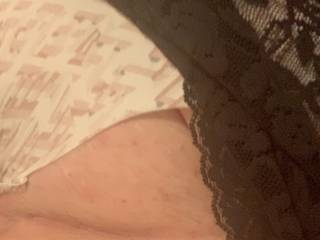 Just a quick panty & lace pic