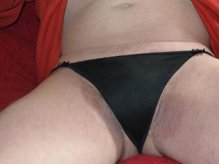 If we look past the bows these are like make thong knickers. So I will call these more male suitable.