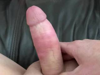 Stroking my cock and thinking of just fucking neighbor wife